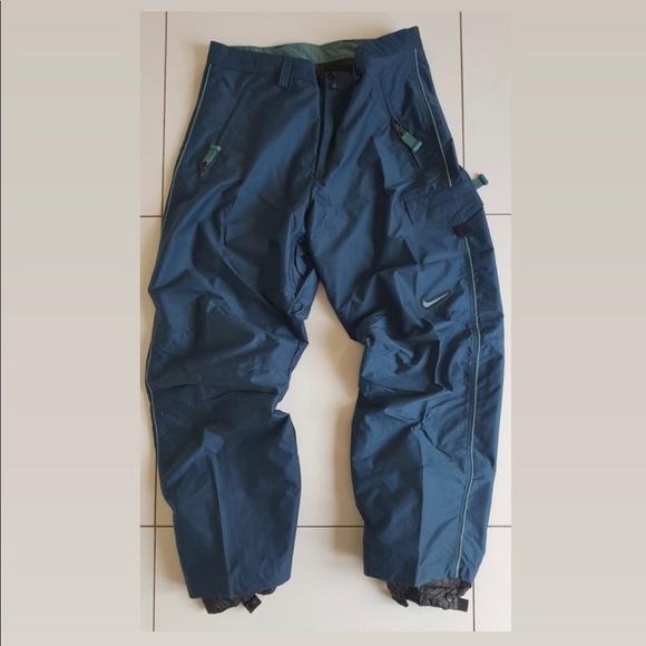 7840627a2ae9 Rare 90 s Nike ACG Snowboarding sky pants NWT🏂